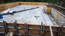 甲斐市龍地 漆喰仕上げのキュートなお家 基礎工事2