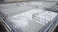 甲府市山宮に建つエイジング加工を施した大きなお家 基礎工事3