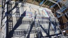 北杜市高根町 漆喰とウッドデッキのお家 基礎工事7