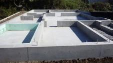 甲斐市龍地 漆喰仕上げのキュートなお家 基礎工事8