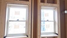 北杜市高根町 漆喰とウッドデッキのお家 内装工事1