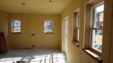中央市浅利 自然素材の漆喰外壁のお家 内装工事11