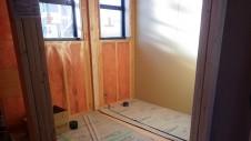 甲府市山宮に建つエイジング加工を施した大きなお家 内装工事11