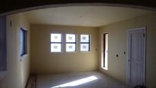 甲府市山宮に建つエイジング加工を施した大きなお家 内装工事12