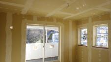 中央市浅利 自然素材の漆喰外壁のお家 内装工事14