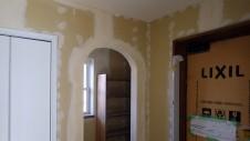 中央市浅利 自然素材の漆喰外壁のお家 内装工事15
