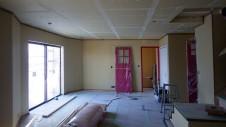甲府市山宮に建つエイジング加工を施した大きなお家 内装工事16