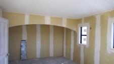 甲府市山宮に建つエイジング加工を施した大きなお家 内装工事17