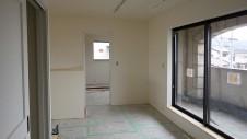 甲府市山宮に建つエイジング加工を施した大きなお家 内装工事18