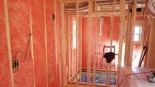 中央市浅利 自然素材の漆喰外壁のお家 内装工事2