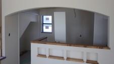 甲府市山宮に建つエイジング加工を施した大きなお家 内装工事20