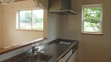 北杜市高根町 漆喰とウッドデッキのお家 内装工事20