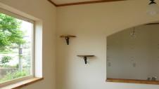 北杜市高根町 漆喰とウッドデッキのお家 内装工事21
