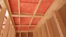中央市浅利 自然素材の漆喰外壁のお家 内装工事3