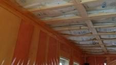 北杜市高根町 漆喰とウッドデッキのお家 内装工事3