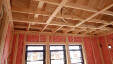 甲府市山宮に建つエイジング加工を施した大きなお家 内装工事4
