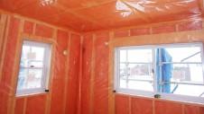 北杜市高根町 漆喰とウッドデッキのお家 内装工事4