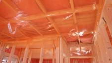 中央市浅利 自然素材の漆喰外壁のお家 内装工事5
