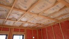 甲府市山宮に建つエイジング加工を施した大きなお家 内装工事5