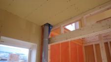 北杜市高根町 漆喰とウッドデッキのお家 内装工事5