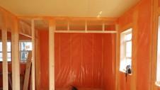 中央市浅利 自然素材の漆喰外壁のお家 内装工事6
