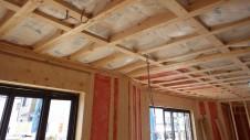 甲府市山宮に建つエイジング加工を施した大きなお家 内装工事6