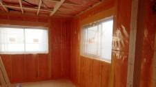 甲府市山宮に建つエイジング加工を施した大きなお家 内装工事7