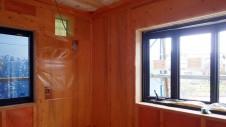 甲府市山宮に建つエイジング加工を施した大きなお家 内装工事8