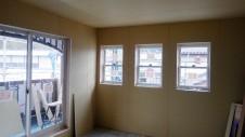 中央市浅利 自然素材の漆喰外壁のお家 内装工事9