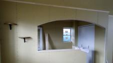 北杜市高根町 漆喰とウッドデッキのお家 内装工事9
