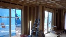 甲斐市龍地 漆喰仕上げのキュートなお家 内装工事1