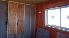 甲斐市龍地 漆喰仕上げのキュートなお家 内装工事10