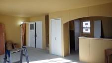 甲斐市龍地 漆喰仕上げのキュートなお家 内装工事12