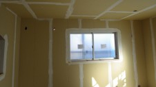甲斐市龍地 漆喰仕上げのキュートなお家 内装工事15