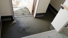 甲斐市龍地 漆喰仕上げのキュートなお家 外装工事18