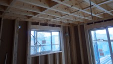甲斐市龍地 漆喰仕上げのキュートなお家 内装工事2