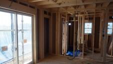甲斐市龍地 漆喰仕上げのキュートなお家 内装工事3