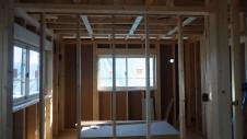 甲斐市龍地 漆喰仕上げのキュートなお家 内装工事5