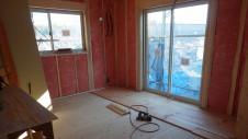 甲斐市龍地 漆喰仕上げのキュートなお家 内装工事7