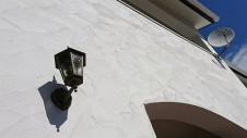 甲府市 漆喰塗り壁のかわいいお家 漆喰塗り壁の外壁