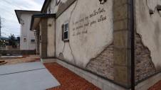 笛吹市石和町 エイジング加工のキュートな家 外観6