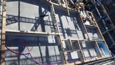 甲斐市竜王新町 自然素材にこだわるお家 土台敷き工事1