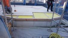甲斐市竜王新町 自然素材にこだわるお家 土台敷き工事2