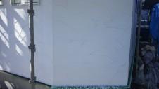 甲斐市竜王新町 自然素材にこだわるお家 外装工事11
