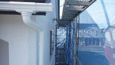甲斐市竜王新町 自然素材にこだわるお家 外装工事13