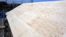甲府市国母 漆喰と極厚フフローリングのカワイイお家 上棟14