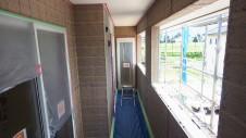 山梨市 大好きな自然素材の漆喰のこだわりのお家 外装工事12