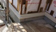 山梨市 大好きな自然素材の漆喰のこだわりのお家 外装工事5
