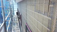 甲斐市 書斎からガレージが見えるインダストリアルデザインのお家 外装工事6