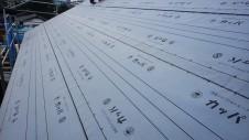 甲府市国母 漆喰と極厚フフローリングのカワイイお家 上棟15